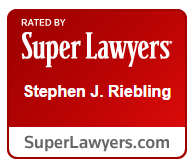Super Lawyers Stephen J. Riebling